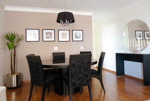 As salas de jantar estão se tornando mais comuns nos lares