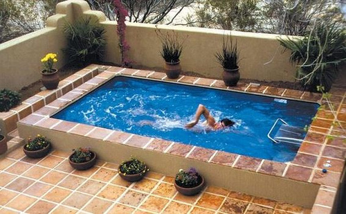 Piscinas para casas pequenas modelos para inspirar - Fotos de casas con piscinas pequenas ...