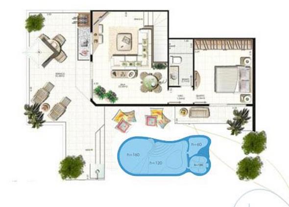projetos-de-casas-com-piscina-no-fundo-do-quintal