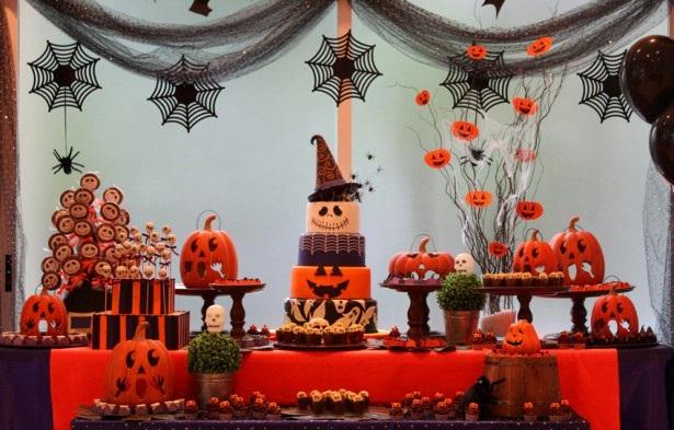 Decoraç u00e3o de Festa de Halloween na Escola Fotos, Dicas -> Decoração De Festas De Halloween