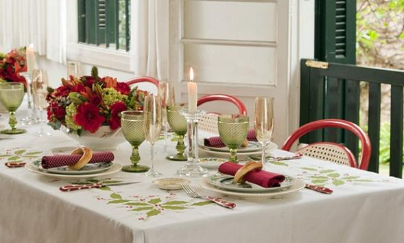 decoracao-facil para-mesa-de Natal-e-Ano-Novo