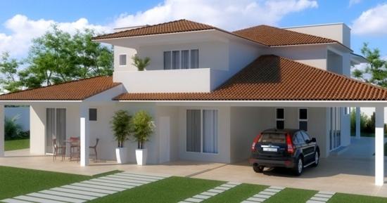 Fachadas para casas modernas e inovadoras - Casas de campo baratas ...