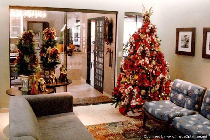 Sala Pequena Decorada Para O Natal ~ Decoração de Natal para Sala Fotos, Dicas para decorar