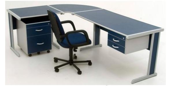 Modelos de mesas de escrit rio em l dicas de como usar for Mesa escritorio l