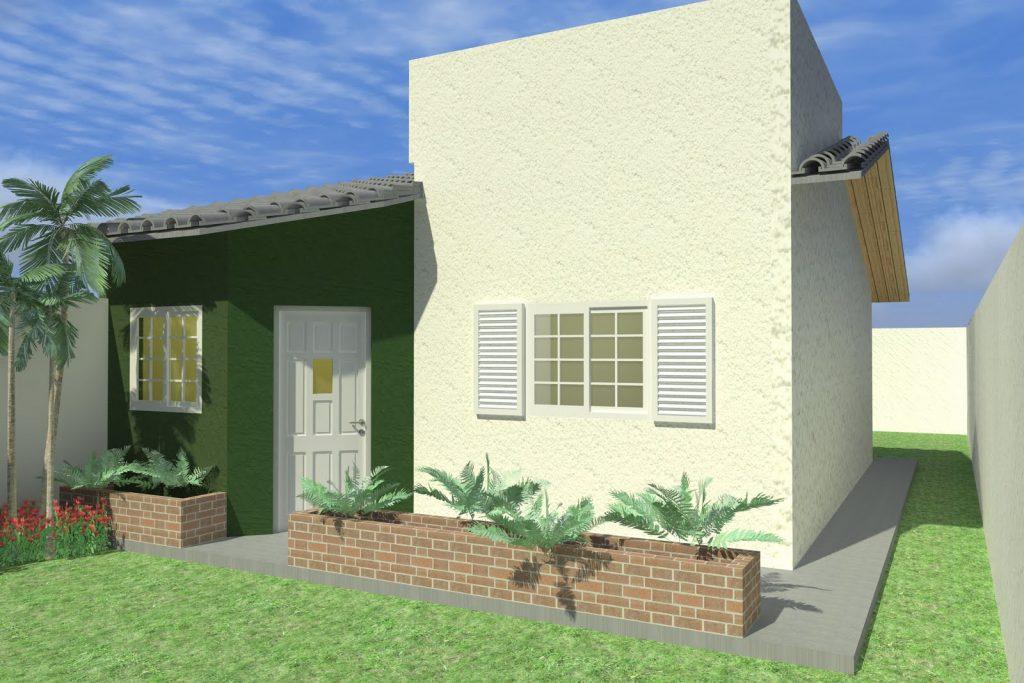 fachada-de-casa-pequena-com-jardim-3d