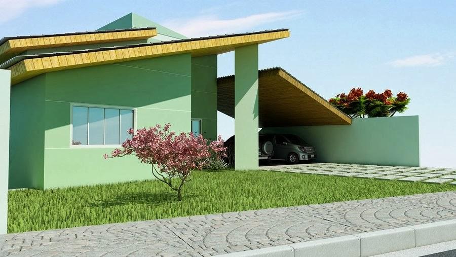 fachada-de-casa-pequena-verde