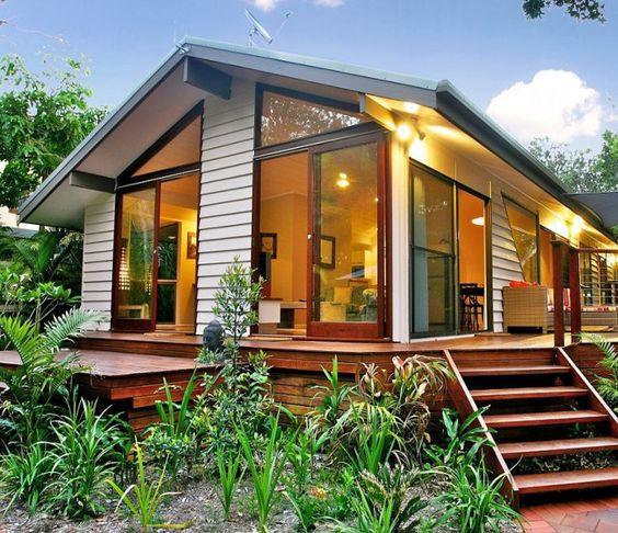 88 fachadas de casas pequenas e modernas for Casas rusticas pequenas