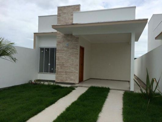 88 fachadas de casas pequenas e modernas for Ideas fachadas de casas pequenas