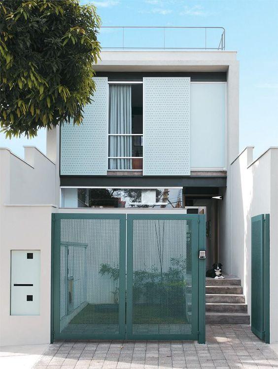 88 Modelos de fachadas de Casas pequenas