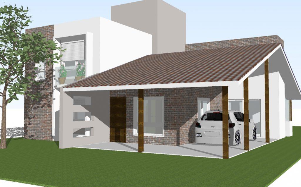 88 fachadas de casas pequenas e modernas for Casas modernas lindas
