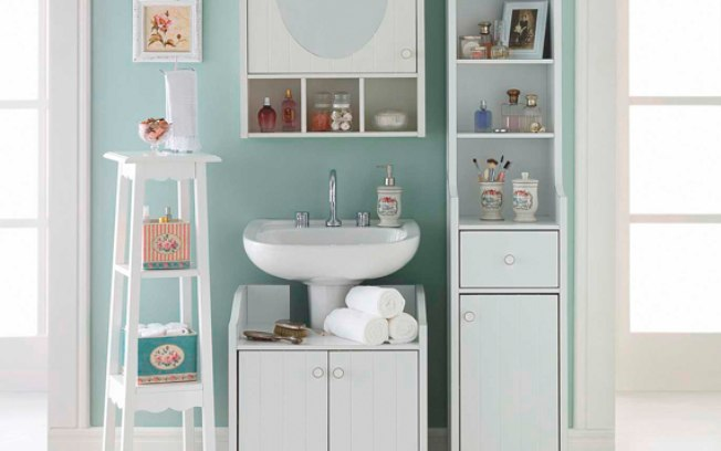 banheiros coloridos classicos