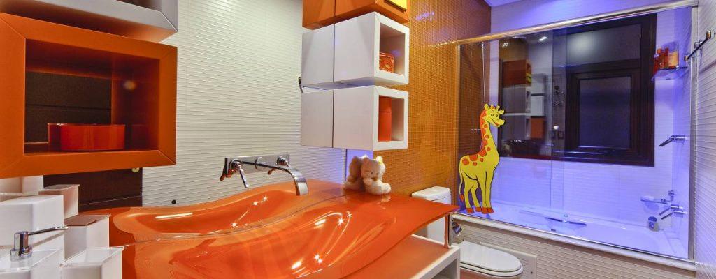 banheiros coloridos decoracao