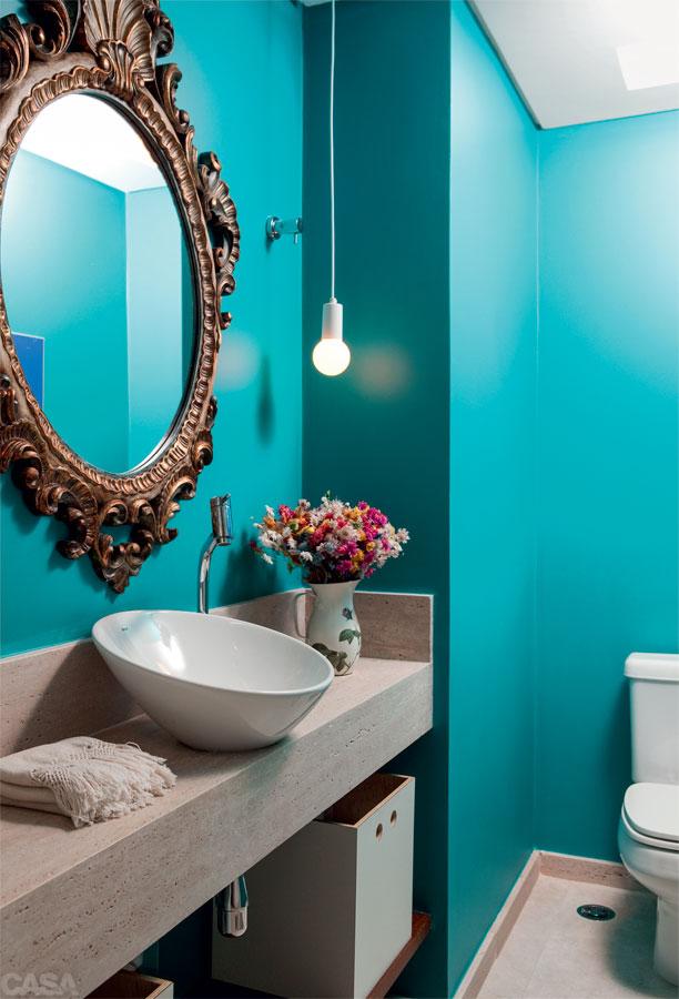 banheiros coloridos perfeito