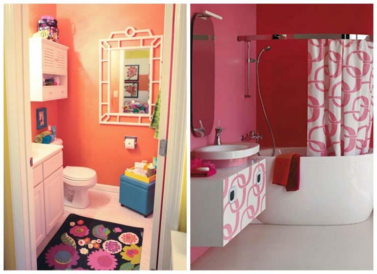 banheiros coloridos sugestoes