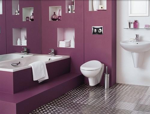 dicas para banheiros coloridos