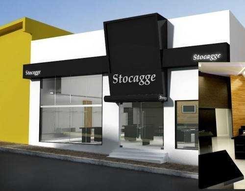 fachada de loja moderna