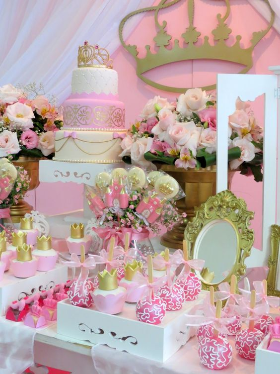 Mesas de guloseimas decoradas