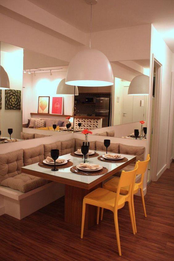 Lustres para salas de jantar