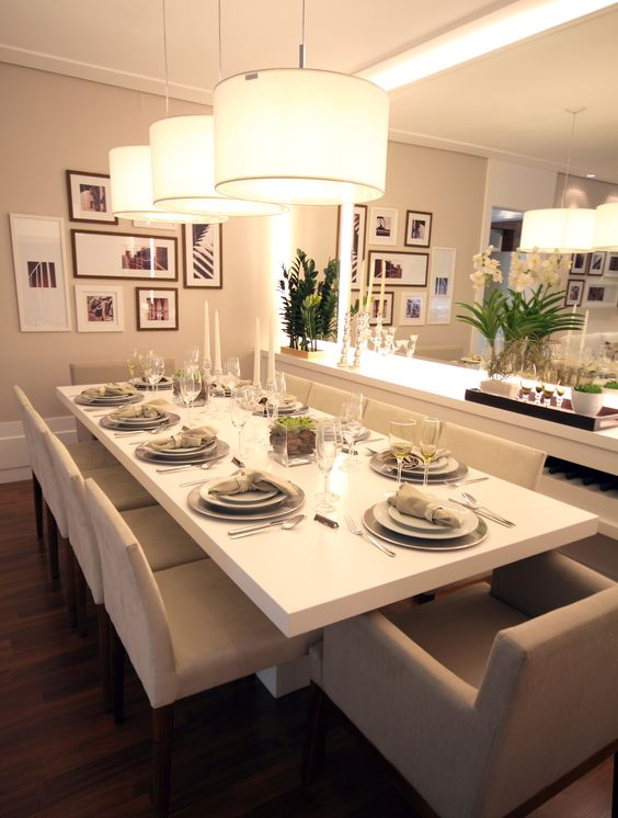 Lustres para salas de jantar perfeitos
