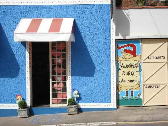 fachada pequena para loja