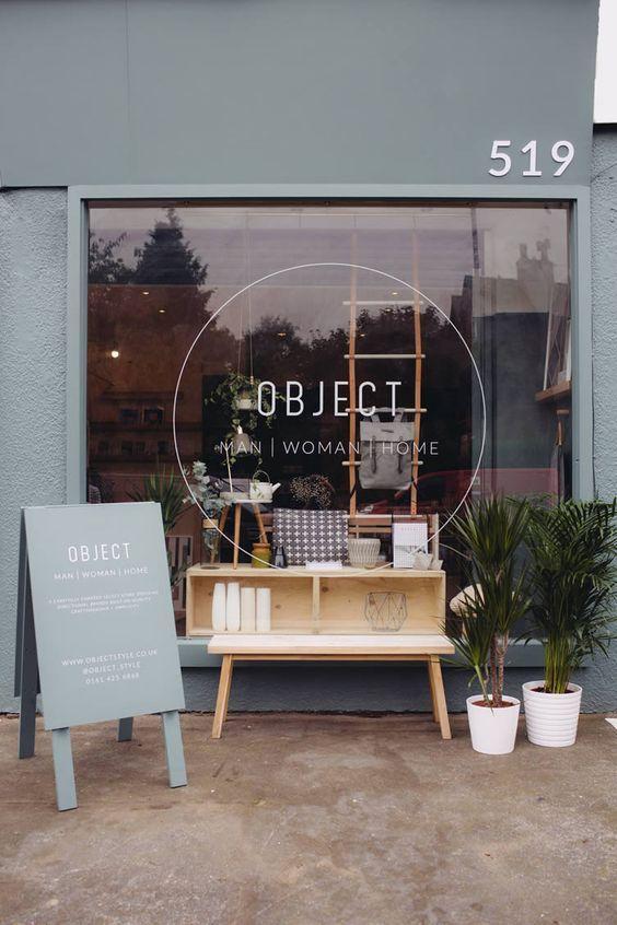 Fotos de Fachadas de lojas pequenas