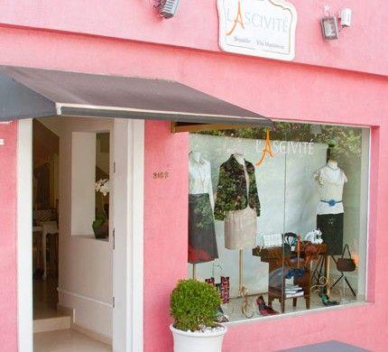 fachada pequena para lojas