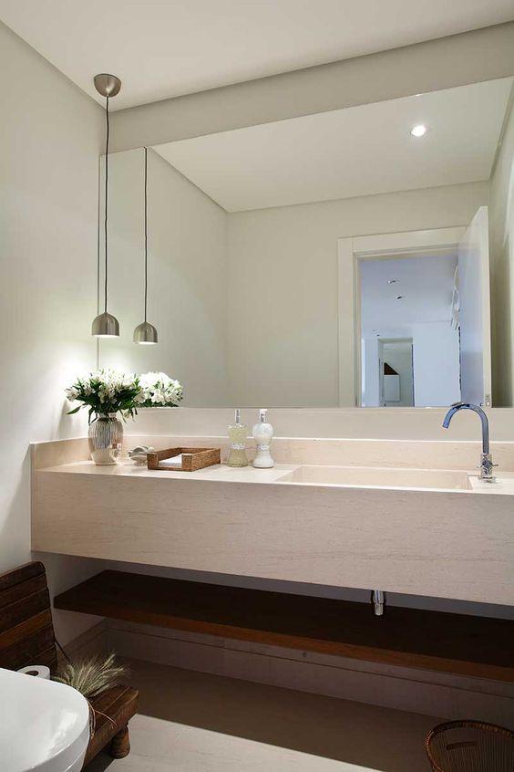 Espelhos para banheiros modernos