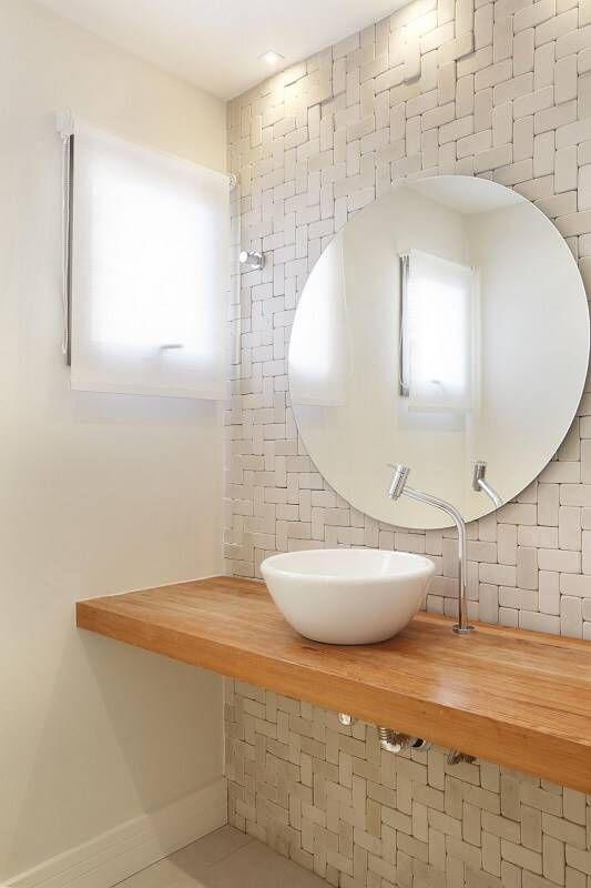 espelho bonito para banheiro