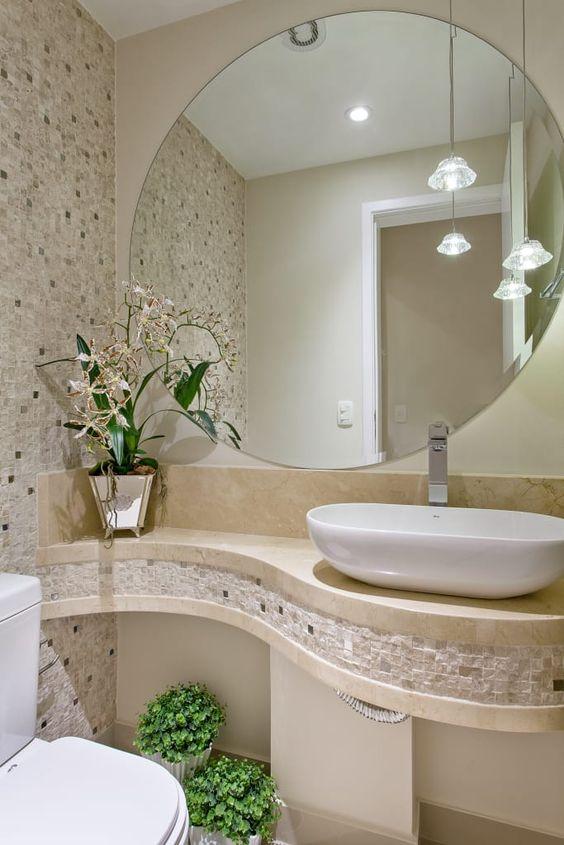espelho lindo para banheiro