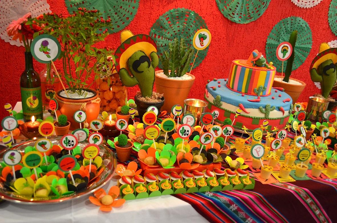 Festas Mexicanas Decorações